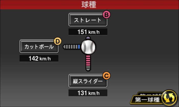 【プロスピA】2020プロスピセレクション第1弾 内 竜也投手2